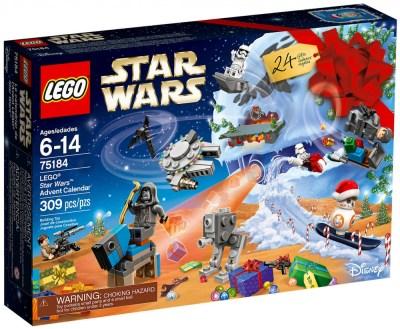 CALENDRIER DE L'AVENT STAR WARS LEGO