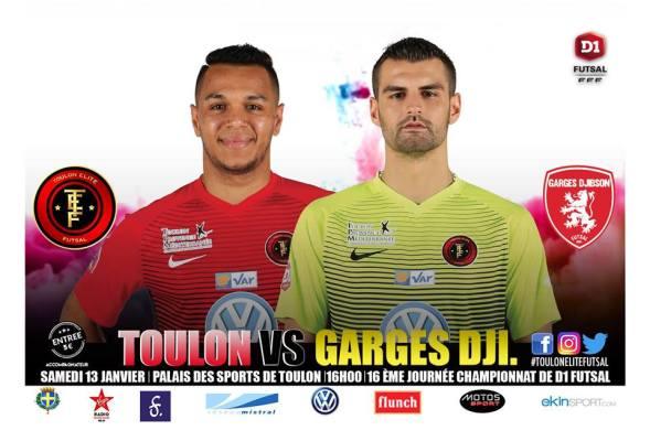 TEF - Garges Djibson au palais des sports de Toulon