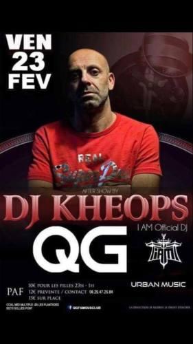 DJ KHEOPS I AM QG