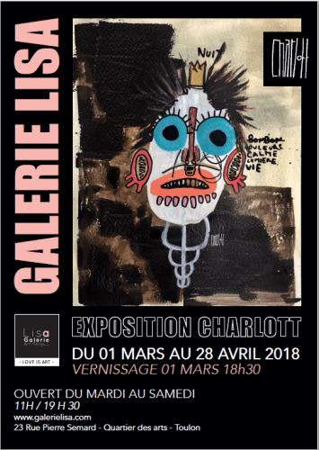 EXPOSITION CHARLOTT GALERIE LISA TOULON