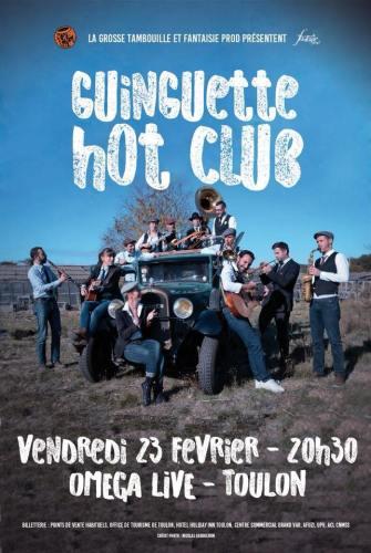 LE GUIGUETTE HOT CLUB A L'OMEGA LIVE A TOULON