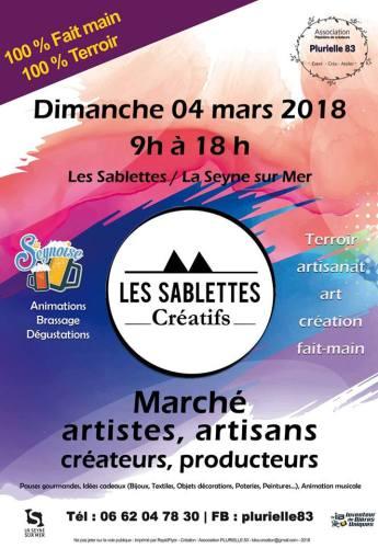 LES SABLETTES CREATIFS A LA SEYNE SUR MER PLURIELLE 83