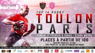 17EME JOURNEE DU TOP 14 RCT STADE FRANCAIS