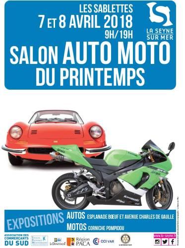 SALON AUTO MOTO DU PRINTEMPS AUX SABLETTES