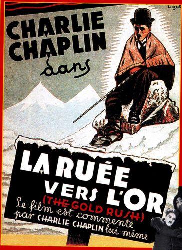 LA RUEE VERS L'OR CHARLIE CHAPLIN THEATRE LIBERTE TOULON