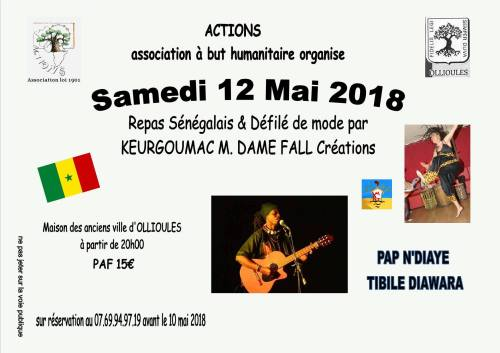 ASSOCIATION ACTIONS SOIREE SENEGALAISE