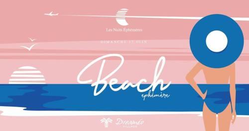 Beach Party Ephémère par les Nuits éphémères à Giens Hyères