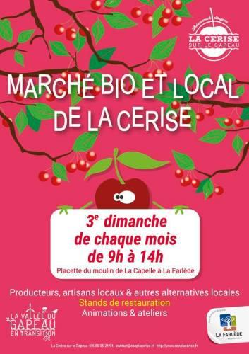 Marché Bio et Local de la Cerise à La Farlède