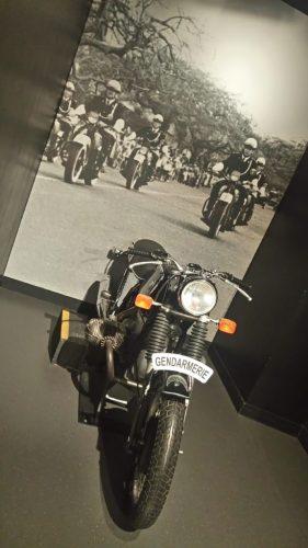 MOTO GENDARMERIE MUSEE DE SAINT TROPEZ