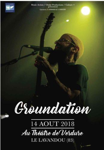 CONCERT DE GROUNDATION AU LAVANDOU 2018
