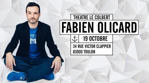 FABIEN OLICARD AU THATRE LE COLBERT A TOULON