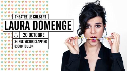 Laura Domenge au Théâtre le Colbert à Toulon