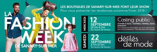 LA FASHION WEEK DE SANARY-SUR-MER