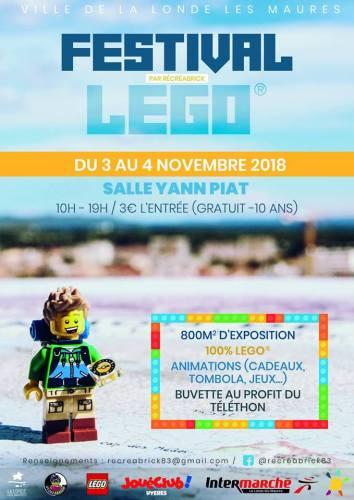 FESTIVAL LEGO A LA LONDE LES MAURES
