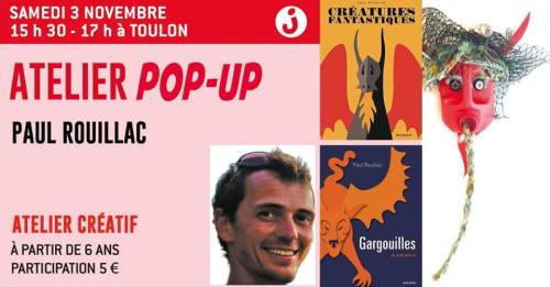 ATELIER POP UP PAUL ROUILLAC CHARLEMAGNE