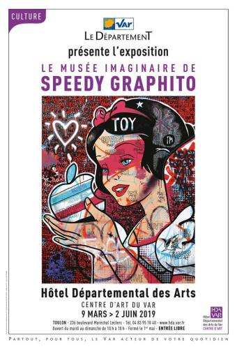 EXPO SPEEDY GRAPHITO HOTEL DEPARTEMENTAL DES ARTS TOULON