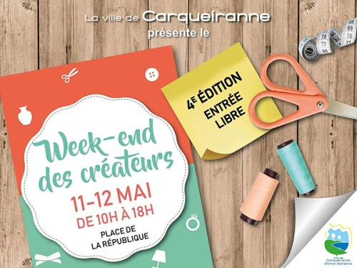 WEEK END DES CREATEURS A CARQUEIRANNE