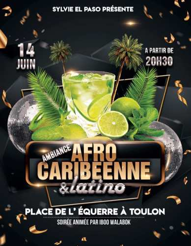 SOIREE AFRO CARIBEENNE ET LATINO PLACE DE L EQUERRE