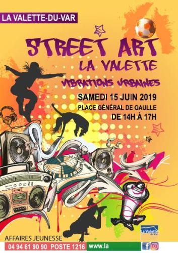 STREET ART LA VALETTE VIBRATIONS URBAINES LA VALETTE DU VAR