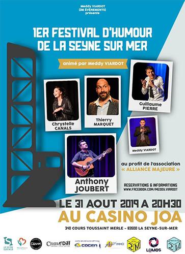 1er Festival d'Humour de la Seyne-sur-Mer