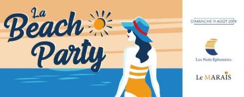 LA BEACH PARTY BY LES NUITS EPHEMERES LE MARAIS HYERES