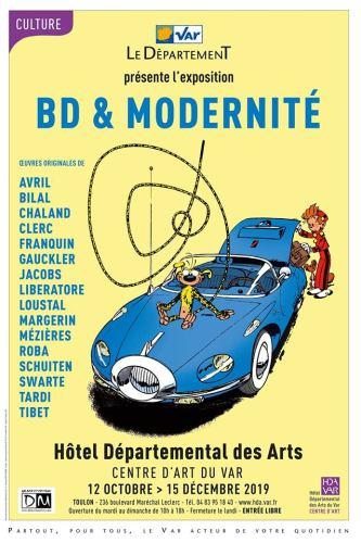 BD & Modernité à Toulon Hôtel des Arts