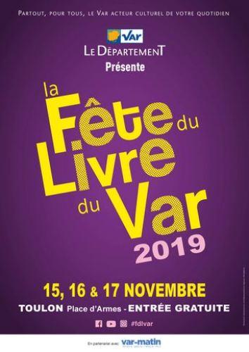Fête du Livre du Var 2019 TOULON