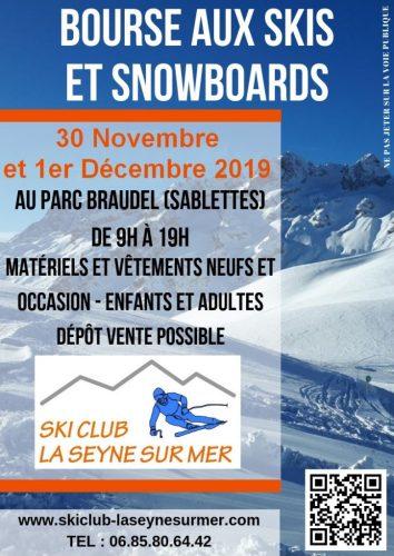 Bourse aux skis et snowboards à la Seyne sur Mer