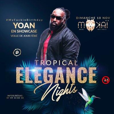 yoan en showcase au Mokai
