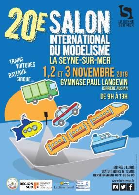 : 20ème Salon international du modélisme à la Seyne sur Mer