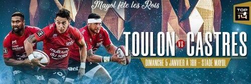 rct castres à Toulon Rugby