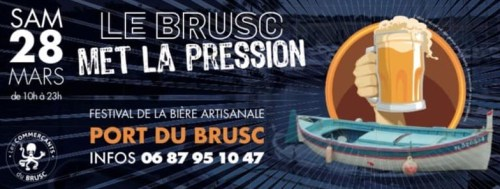 LE BRUSC MET LA PRESSION FETE DE LA BIERE