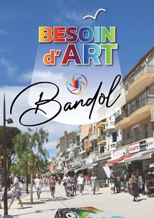 painting in the street a bandol