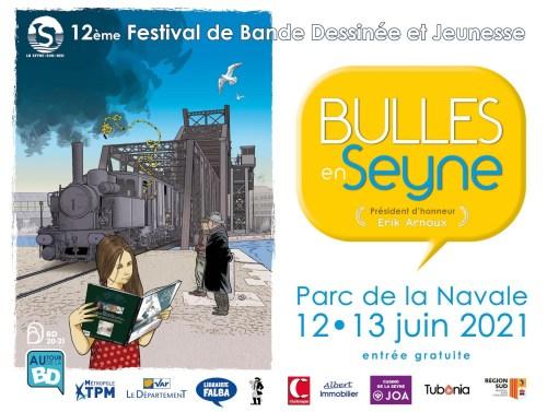 Festival de BD Bulles en Seyne à la Seyne sur Mer