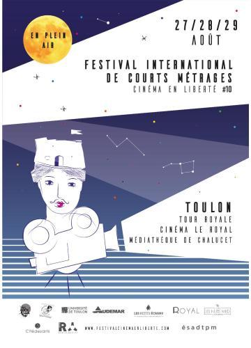 Festival International Cinéma en Liberté à la Tour Royale à Toulon