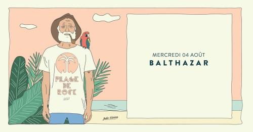 CONCERT GRATUIT DE BALTHAZAR PLAGE DE ROCK SAINT TROPEZ