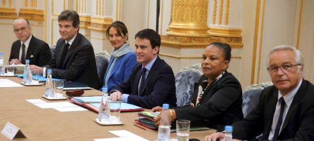 Valls Royal Montebourg Taubira