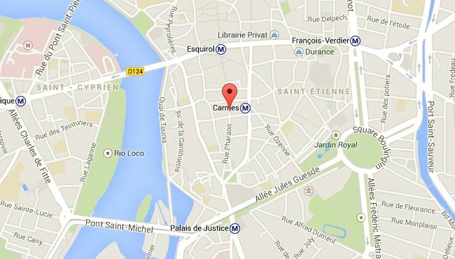 policiers place des carmes Toulouse