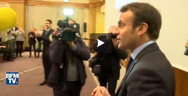 Macron tente de se forger une stature d'homme d'État