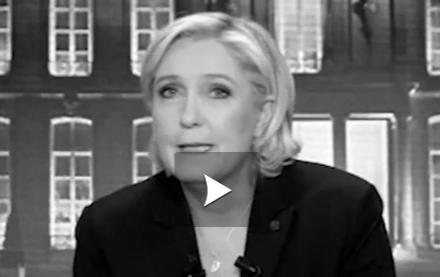 Présidentielle. les appels du pied de Marine Le Pen aux électeurs de Jean-Luc Mélenchon