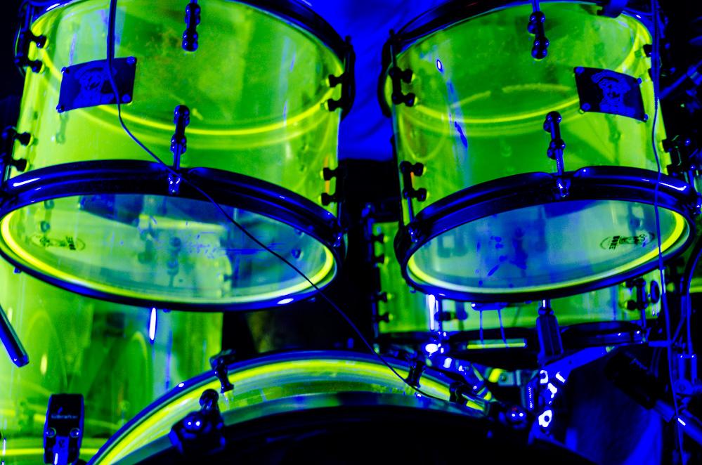stromausfallsicheres Schlagzeug
