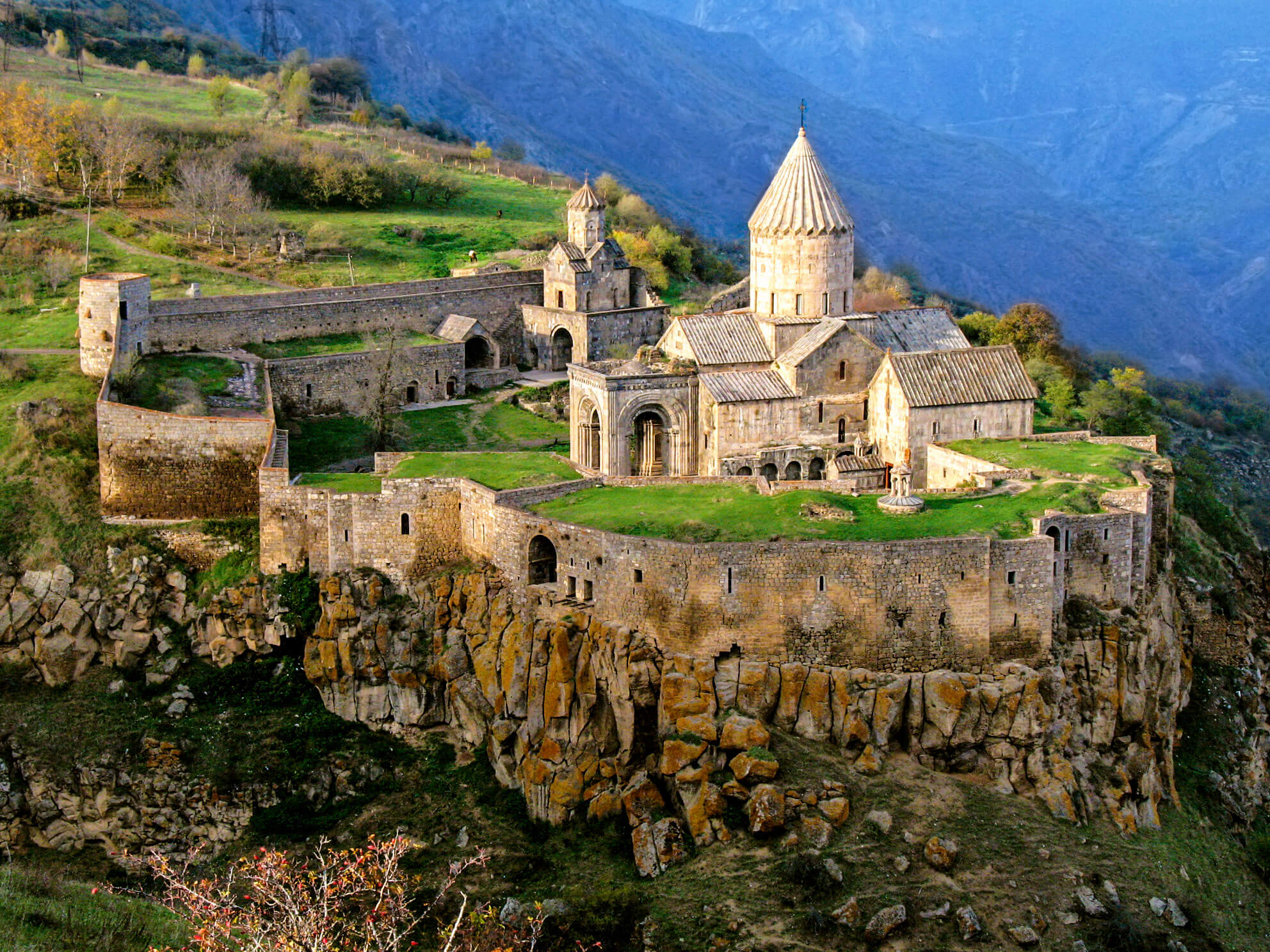 Tatev Monastery Complex In Armenia
