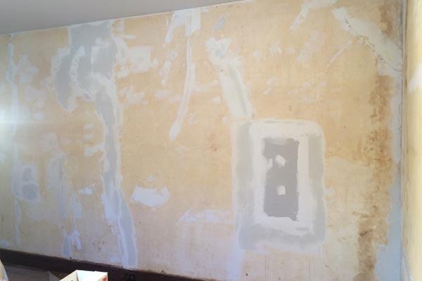 repairing old plaster walls