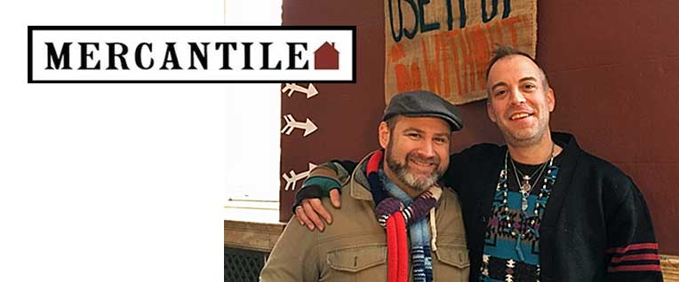 Ron Morris and Ken Jones, Jr. of Mercantile Home