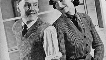 FREE Vintage Bolero Jackets PDF Knitting Patterns - Tour de