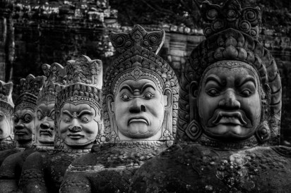 2019-03-14 - Statues Angkor Thom-12