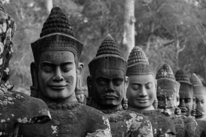 2019-03-14 - Statues Angkor Thom-2