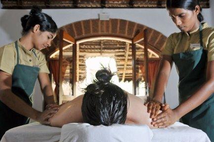 ayurvedische Synchron-Massagen