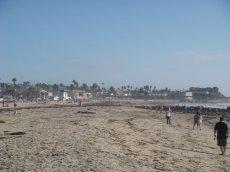 Strandleben am Ocean Beach in San Diego