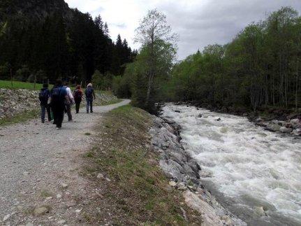 Wanderung an der Breitach